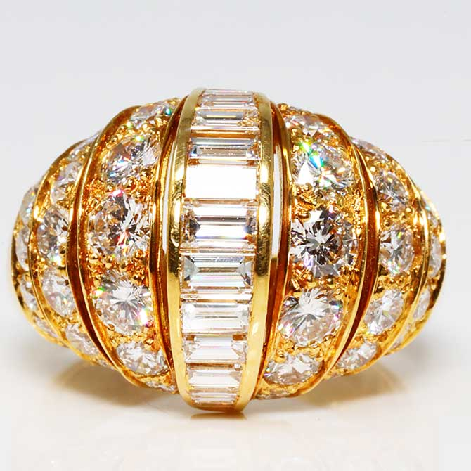 Cartier bombe ring