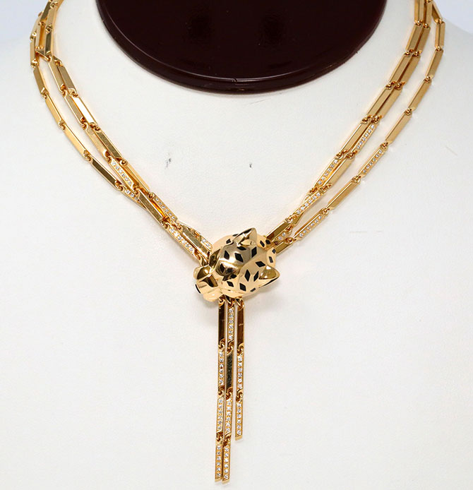 Cartier Panthere necklace