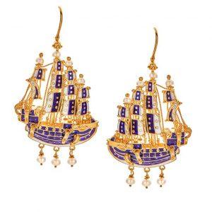 Christina Alexiou earrings