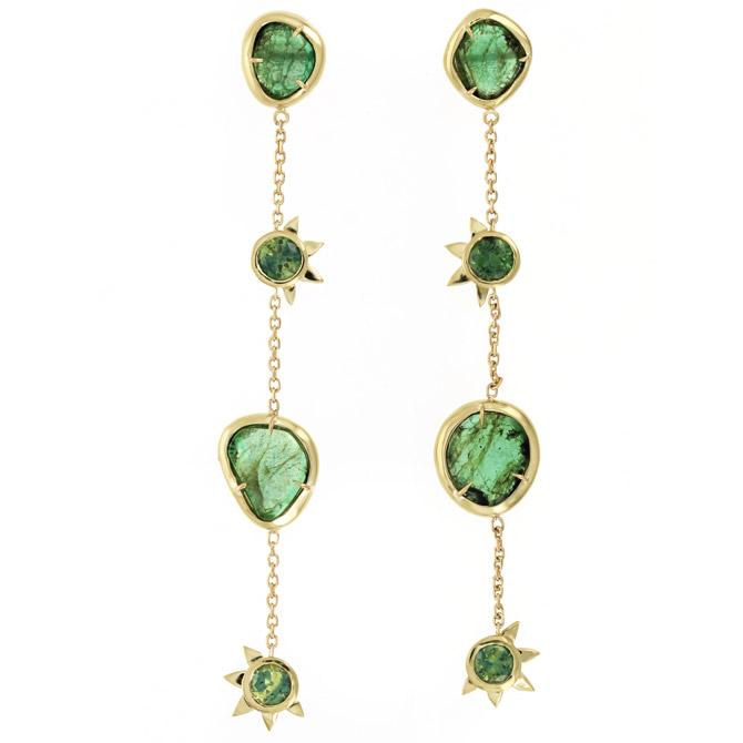 IO Collective Esmeralda earrings