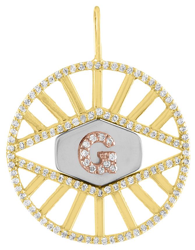 Eden Presley third eye flip pendant