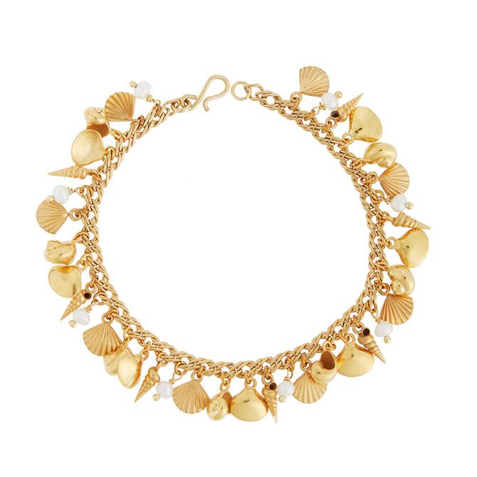 Eye M Ileana makri charm bracelet