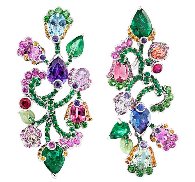 Faberge secret garden earrings