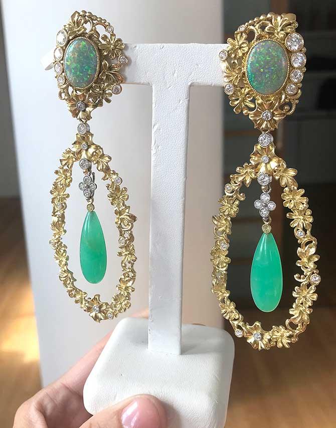 Featherstone Design earrings