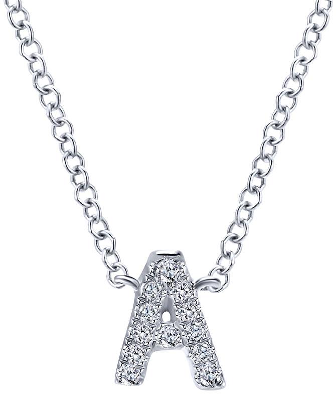 Gabriel lusso initial necklace