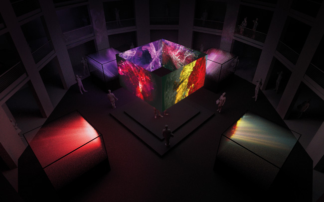 Gemfields VOID installation