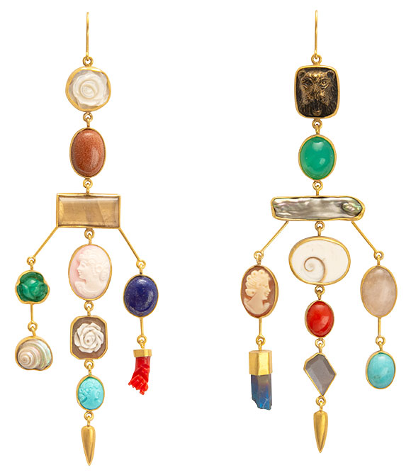 Grainne Morton victorian earrings