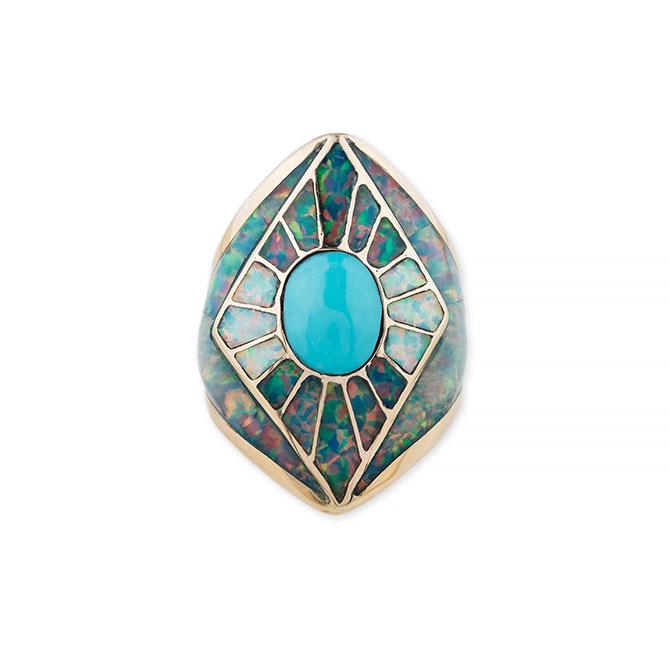 Jacquie Aiche opal ring