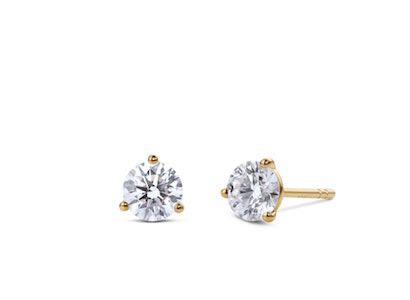 Lightbox solitaire diamond studs