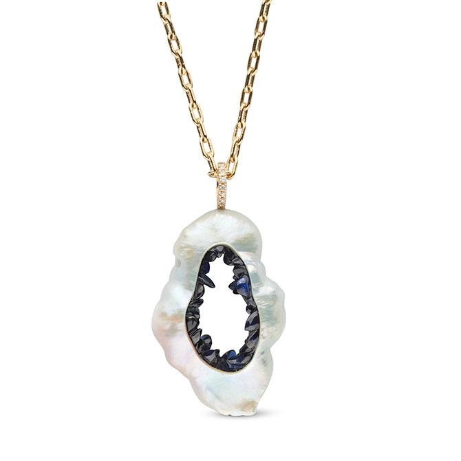 Little h grotto pendant