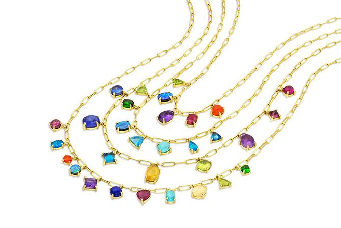 M Spalten Assorted Gemstone Necklaces