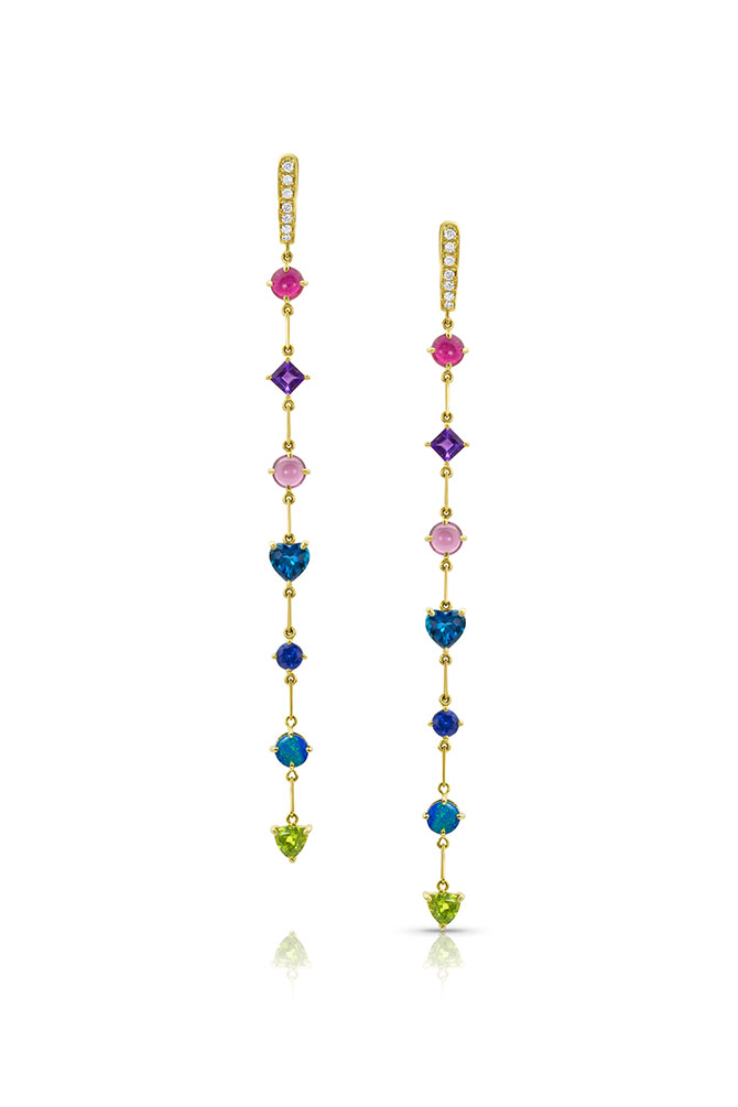 M Spalten Duster earrings