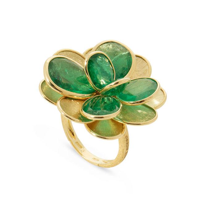 Marco Bicego Unico emerald ring