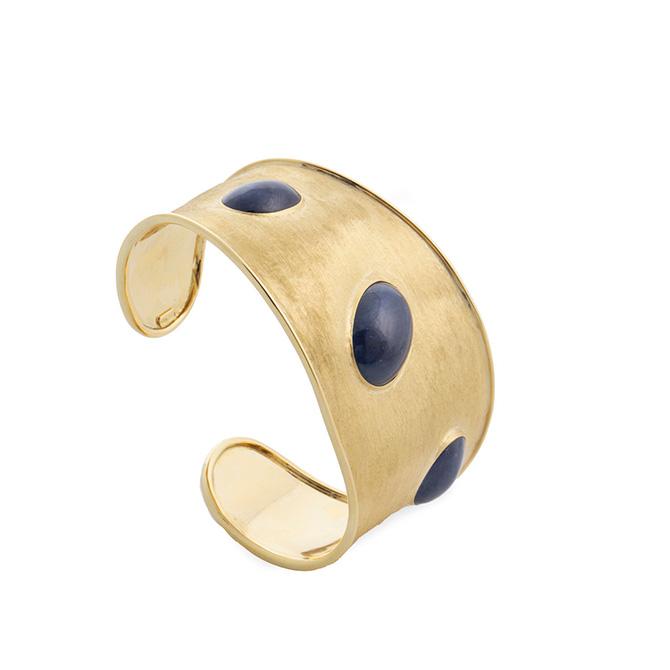Marco Biecgo Unico sapphire cuff