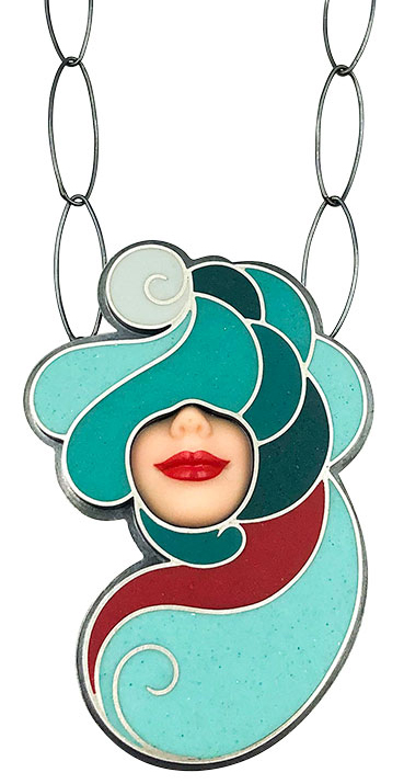 Margaux Lange Barbie necklace