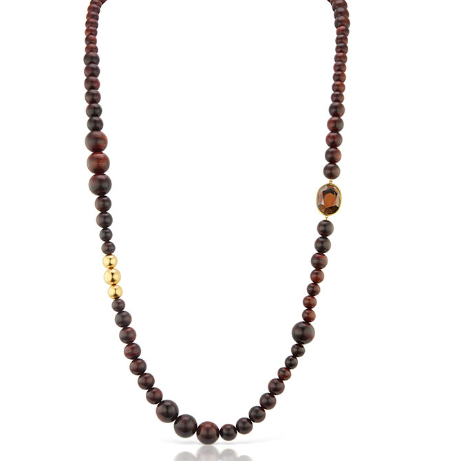 Maria Canale bead necklace