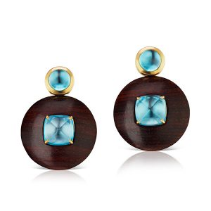 Maria Canale disk earrings