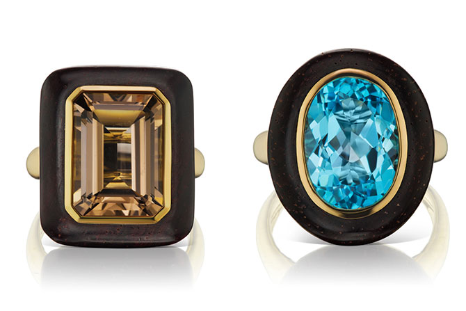 Maria Canale rings