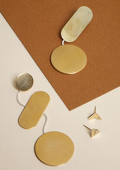Michele Varian sculptural jewelry