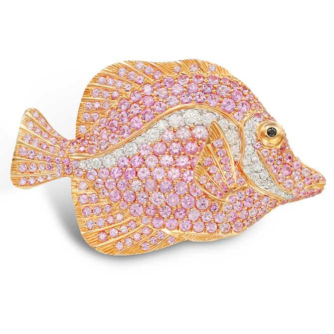 Mio Harutaka angelfish pin