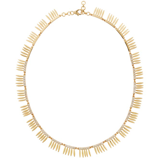 Ileana Makri Grass necklace