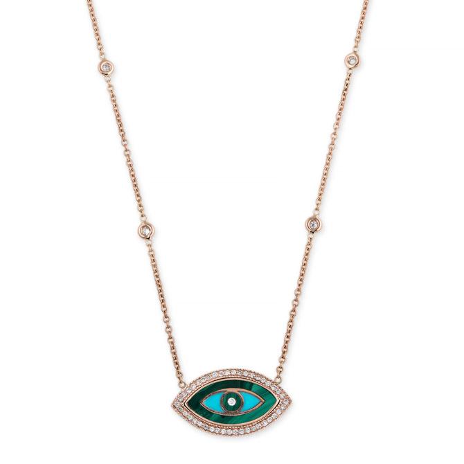 Jacquie Aiche eye necklace