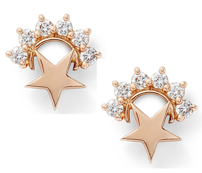 Nouvel Heritage mystic star studs