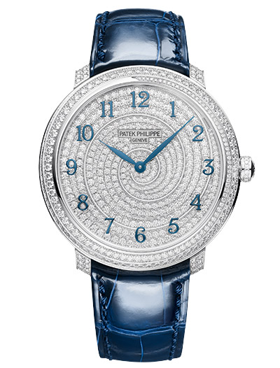 Patek Philippe ladies Calatrava Diamond Ribbon watch