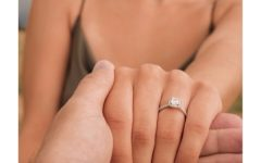 Instagram engagement ring photo