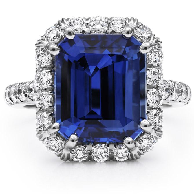 Coast Diamond sapphire ring