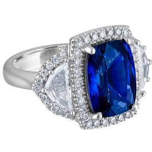 Color Source Gems sapphire ring