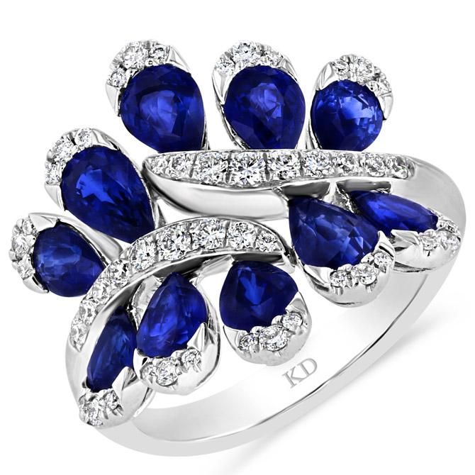 Kattan sapphire ring