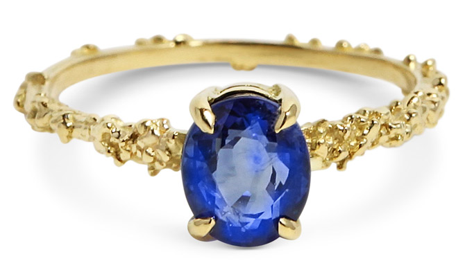 Michelle Oh sapphire ring