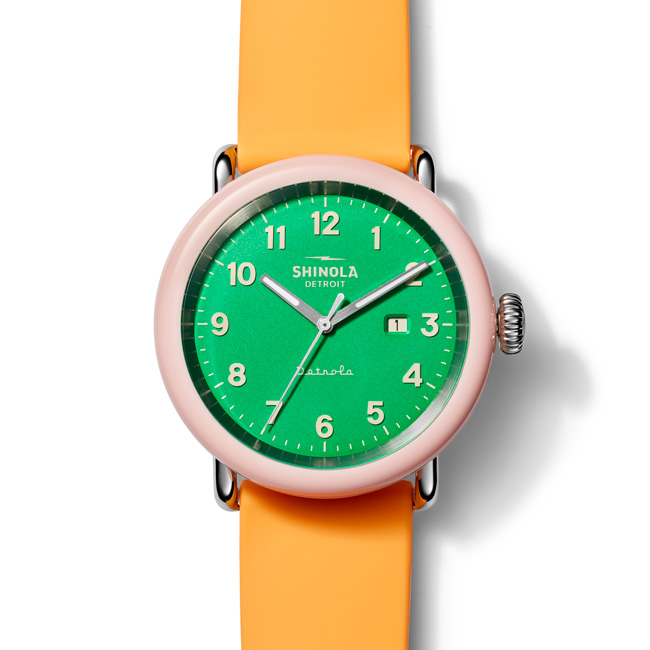 Shinola Detrola The Islander watch