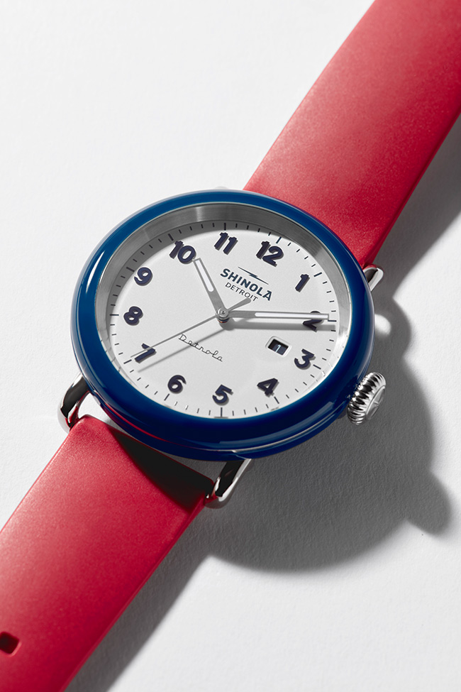 The Ace watch from Shinola's Detrola collection, $395