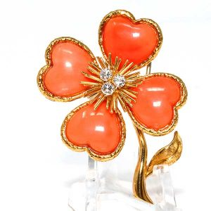 Van Cleef Arpels Cosmos collection brooch
