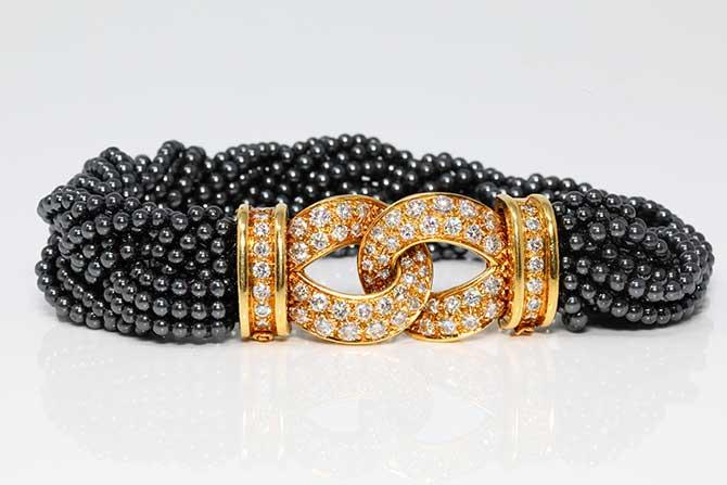 Van Cleef Arpels pearl bracelet