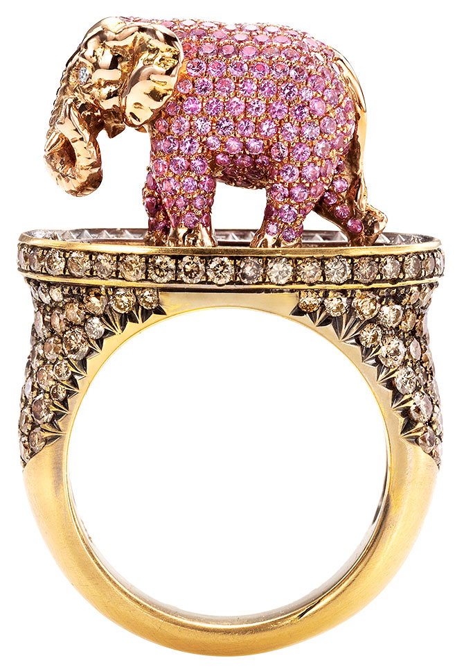 Wendy Brandes elephant ring