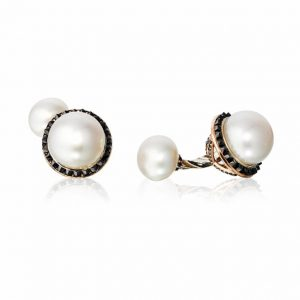 Chris Faber pearl cufflinks