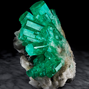 Extremely Rare Natural Emeralds on Display at Wilensky Gallery – JCK