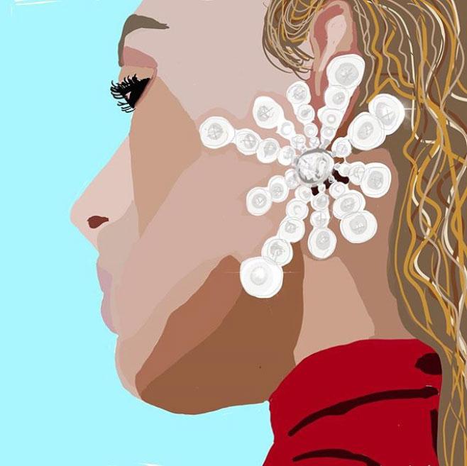 sketchnyc feranndo jorge earrings