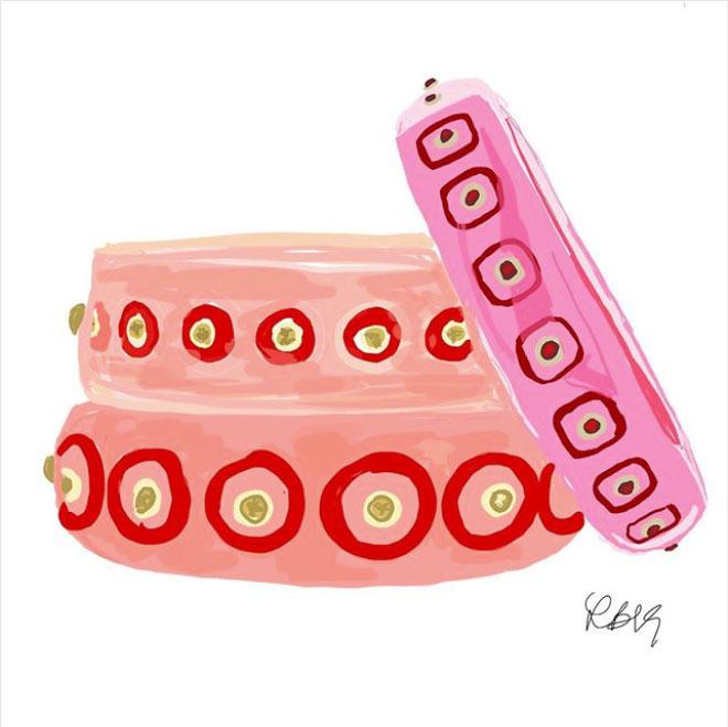 sketchnyc mark davis bakelite bracelets