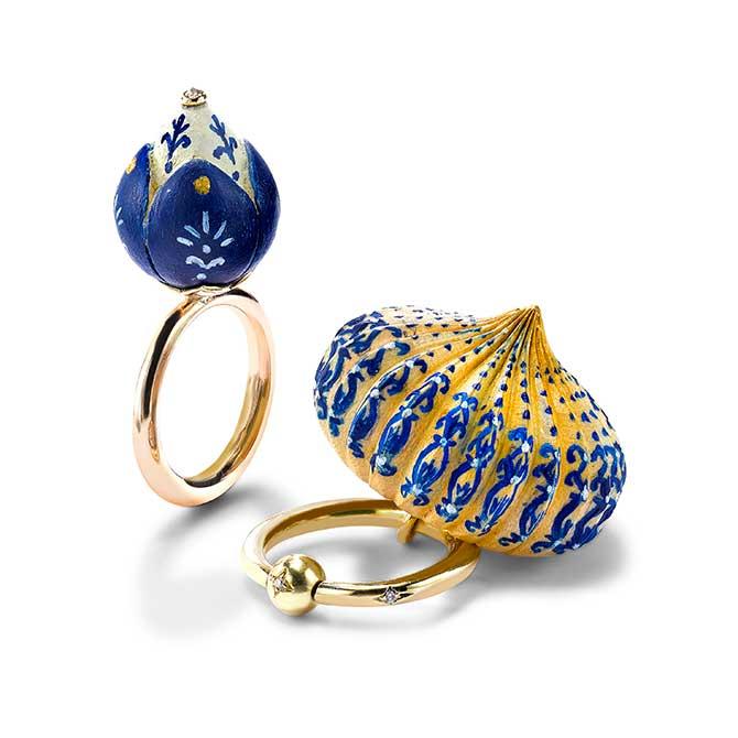 Alice Cicolini rings