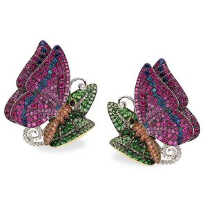Aucoin Hart butterfly cufflinks