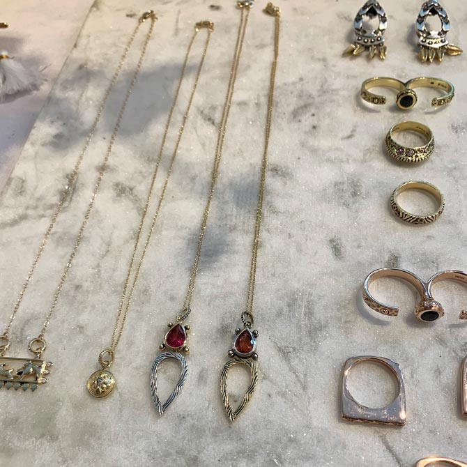 Kaura Jewels jewelry collection