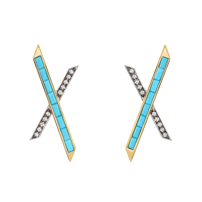 Emily P Wheeler Baby X Earrings