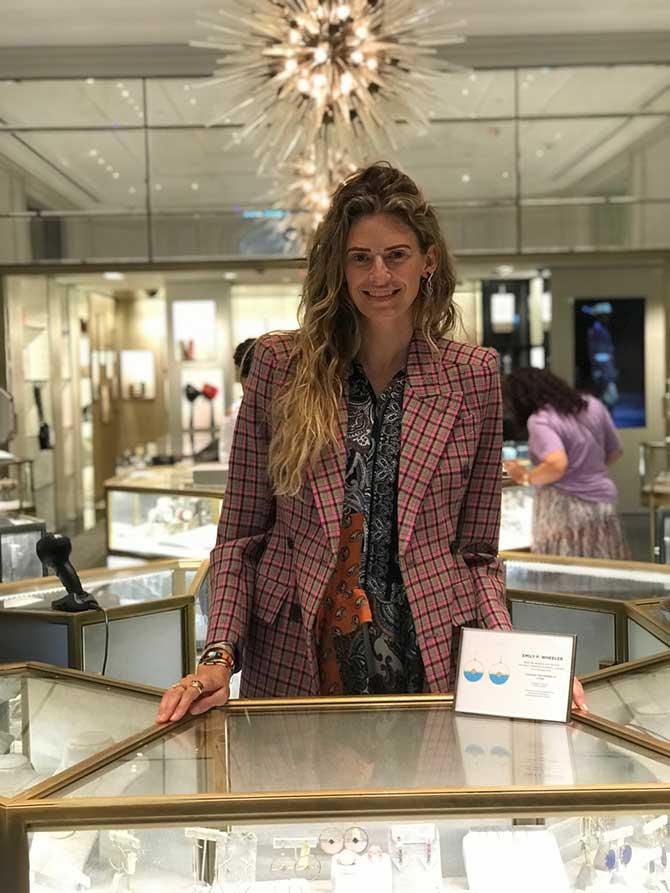 Emily P Wheeler at Bergdorfs