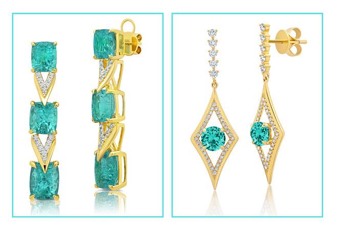 Graziela tourmaline earrings