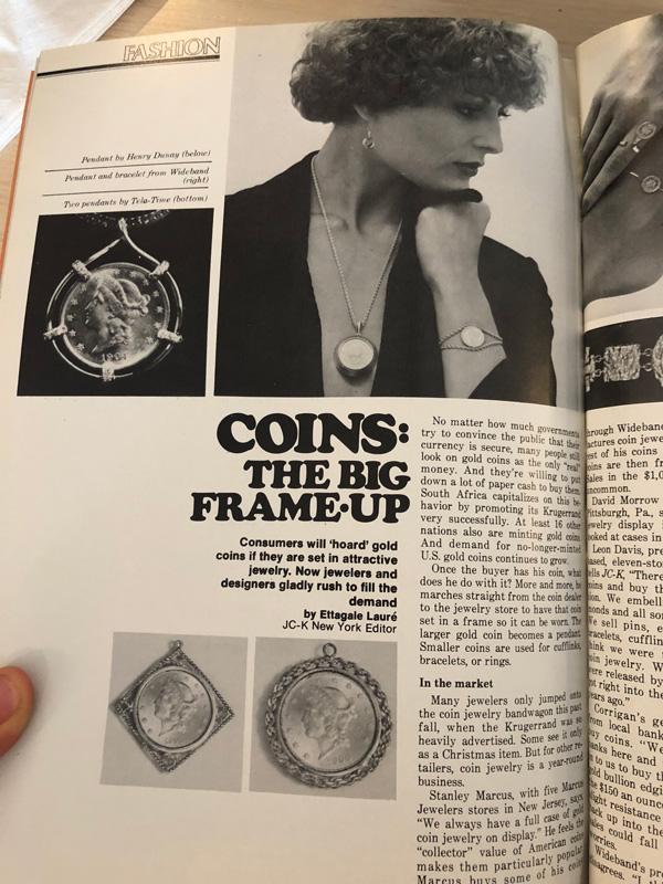 JCK magazine 70s
