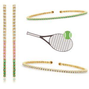 Jennifer Meyer tennis jewelry